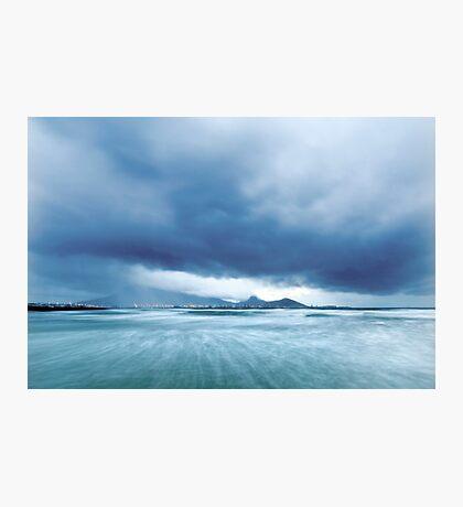 Cloud-Break Morning, Lagoon Beach, Cape Town Photographic Print