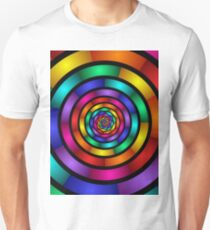 Rund und Psychedelisch Unisex T-Shirt