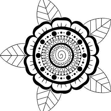 Mandala 3 by abiharrell
