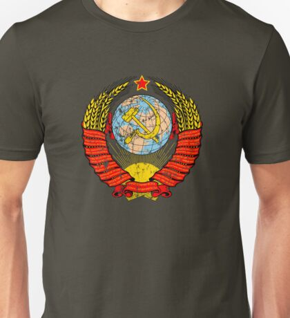 Soviet Coat of Arms - distressed look T-Shirt