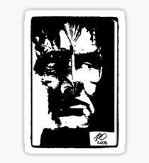 Elim Garak portrait Sticker