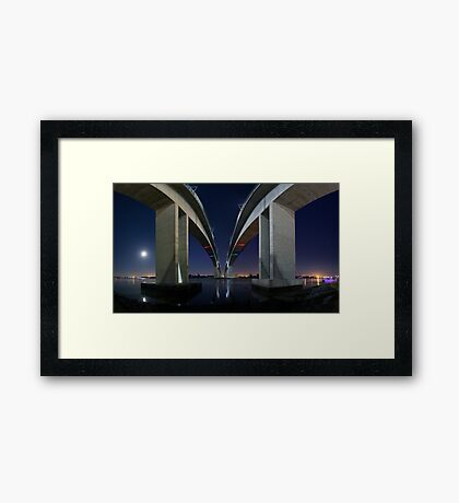 The Gateway... Framed Print