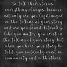 Tell Your Story by EmmyAnastasia