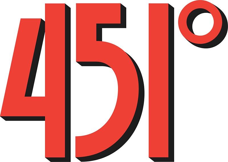 Fahrenheit 451 Stickers By Gunru Redbubble