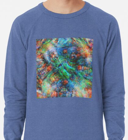 Mermaid #DeepDream Lightweight Sweatshirt