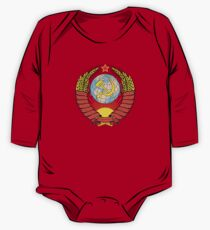 Soviet Coat of Arms One Piece - Long Sleeve