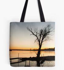 Saratoga Lake Tote Bag