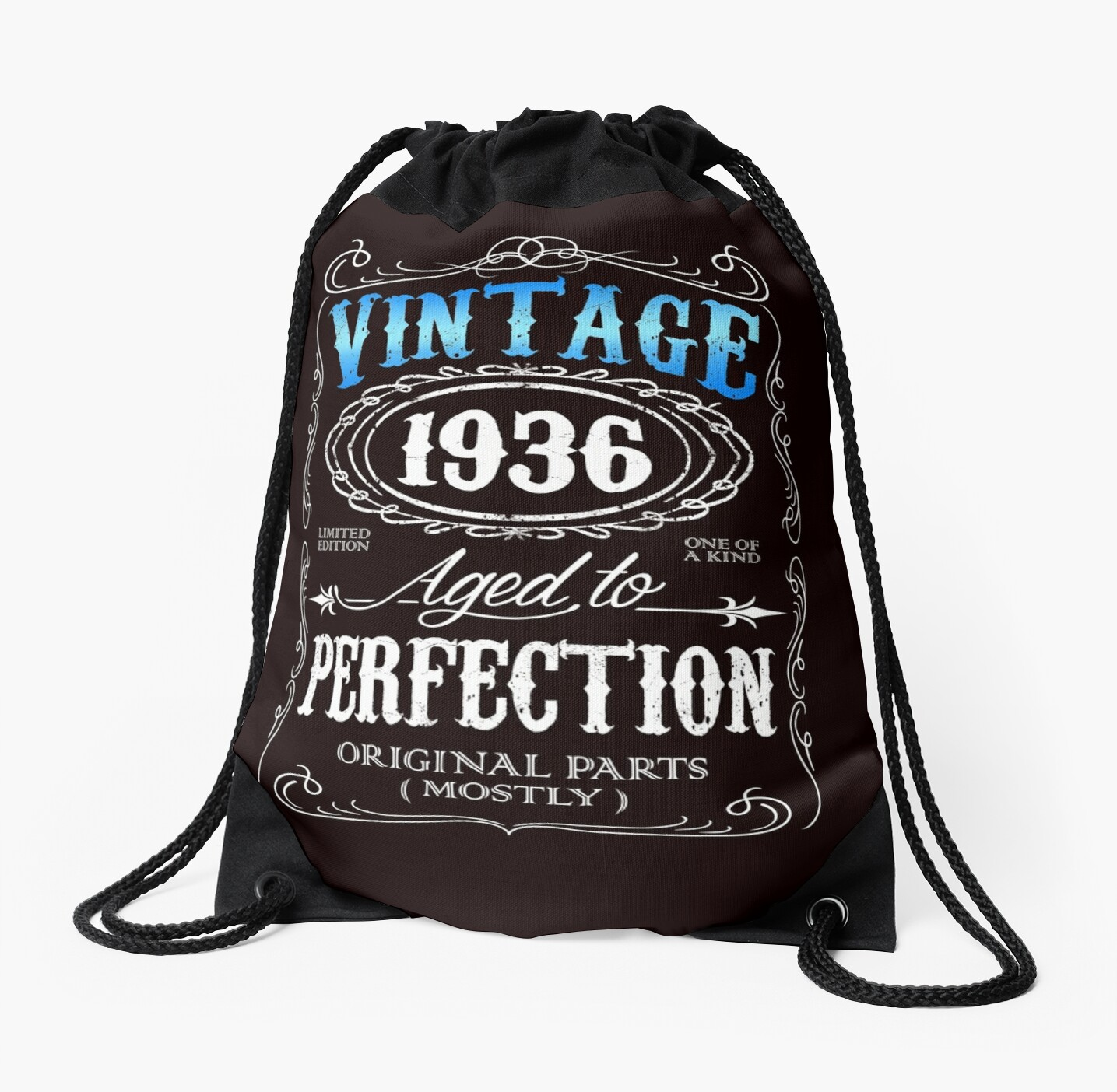 80th Birthday Gift For Men Vintage 1936 Aged To Perfection 80 By Artyrepublic
