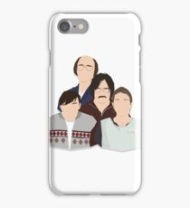'Derek' / 'Ricky Gervais' / 'Karl Pilkington' Vector Artwork iPhone Case/Skin