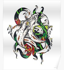 Rosey tentacles Poster