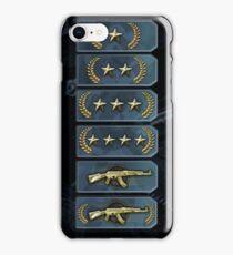 Csgo ranks iPhone Case/Skin