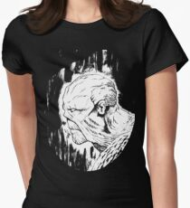 The Swamp Thing Womens Fitted T-Shirt