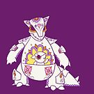 Kangaskhan Pokemuerto | Pokemon & Day of The Dead Mashup by abowersock