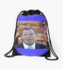 Australian History Drawstring Bag