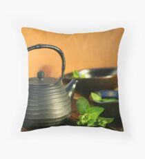 Relaxing Day Throw Pillow