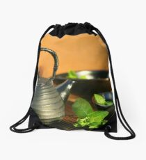 Relaxing Day Drawstring Bag
