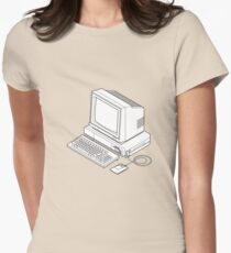 Amiga 1000 Womens Fitted T-Shirt