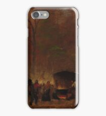 Eastman Johnson - A Different Sugaring Off iPhone Case/Skin