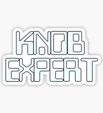 Knob Expert Sticker