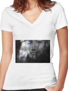 Serenity 02 Women's Fitted V-Neck T-Shirt