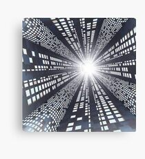 Abstract - High Speed Information Highway Canvas Print