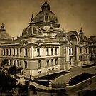 National Bank, Bucharest, Romania approx 1910 by Dennis Melling