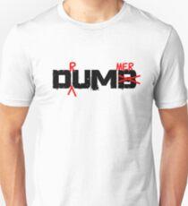 Drummer Dumb Funny Cool Shirt For Drummers Unisex T-Shirt