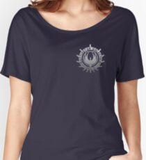 Battlestar Galactica - Chrome Logo Women's Relaxed Fit T-Shirt