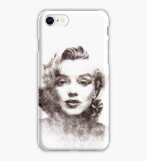 Marilyn Monroe portrait 04 iPhone Case/Skin
