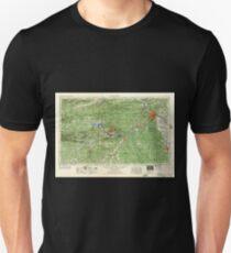 USGS TOPO Map Arkansas AR Little Rock 260600 1956 250000 T-Shirt