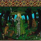The Mistletoe King, Painted by CherrieB