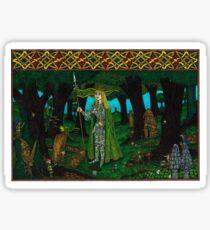The Mistletoe King, Painted Sticker