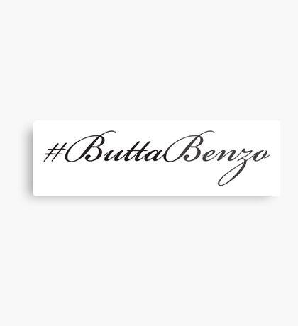 #ButtaBenzo Metal Print