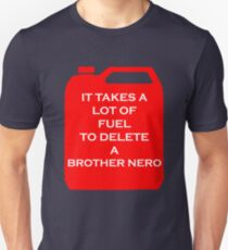 Delete A Brother Nero Unisex T-Shirt