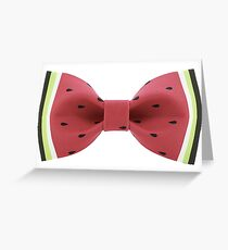 Bow Tie Greeting Card