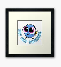 Just Keep Swimming #2 Framed Print