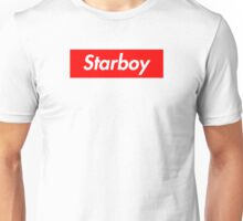 The Weeknd - Starboy Supreme logo Unisex T-Shirt