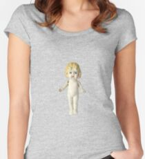 The Adventures of Claudia Doll Women's Fitted Scoop T-Shirt
