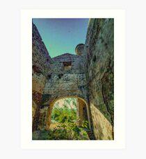 Santo Tomas engine house, Pozo Ancho lead mine, Linares, Andalusia, Spain Art Print