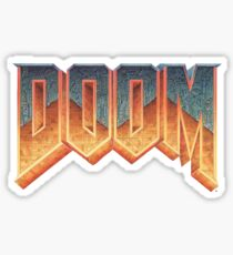 DOOM (Logo) Sticker