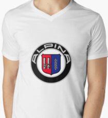 Alpina - Classic Car Logos Men's V-Neck T-Shirt