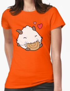 Cute Poro (league of legends) Womens Fitted T-Shirt