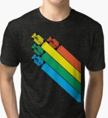 CHAMPIONSHIP SPRINT - CLASSIC ARCADE GAME Tri-blend T-Shirt
