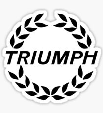 Triumph - Classic Car Logos Sticker