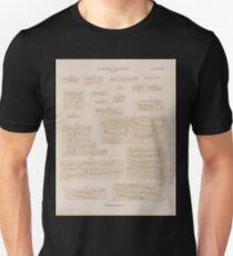 0706 Sinaitische Inschriften No 138 157 Wadi Mokatteb Gruppe B Unisex T-Shirt