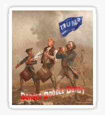 Donald Doodle Dandy Sticker