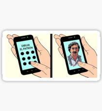 Narco Humor Sticker