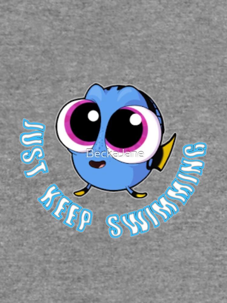 Simplemente sigue nadar # 2 de BeckaJane