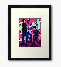 Future Cops Framed Print