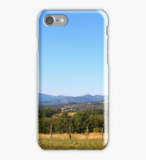 Fence Posts in Tuscany iPhone Case/Skin